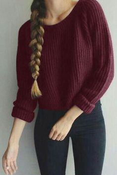 Perfect sweater for the season.