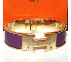 HERMES Click Clack Bangle Bracelet
