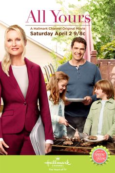 All Yours is a 2016 Hallmark Channel Original Movie starring Nicollette Sheridan, Dan Payne, Kiefer O'Reilly, Genea Charpentier, Jayne Eastwood and Lochlyn Munro. Plot: Cass, a widowed mother of two and driven attorney, is in need of a nanny. She hires Matt, a handsome single family friend. Matthew's more laid back style changes the demeanor of the family's intense schedule. Does Cass realize she's needs to adjust her life's focus? Genre: Romance, Comedy.