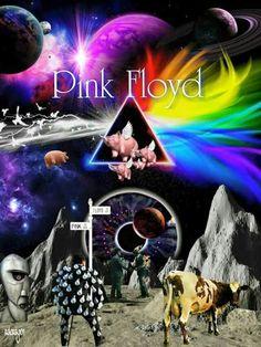 Rock n Roll Pink Floyd Artwork, Pink Floyd Poster, Imagenes Pink Floyd, Arte Pink Floyd, Dark Side Of Moon, Wicked Tattoos, Night Sky Wallpaper, Apple Logo Wallpaper, Pink Floyd Dark Side