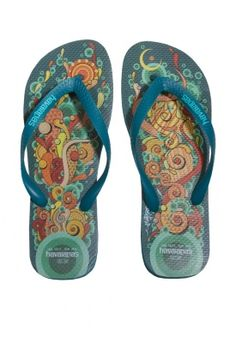 Havaianas Highraff Graffiti Flip-Flop - these would make a great bday gift - just sayin' ;)
