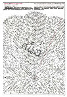 Crochet Tablecloth Pattern, Free Crochet Doily Patterns, Crochet Doily Diagram, Crochet Chart, Thread Crochet, Filet Crochet, Crochet Stitches, Crochet Baby Shawl, Crochet Dollies
