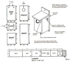 Nebraska Game and Parks Commission - Nest Box Plans - American Kestral