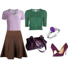 """Soft Summer Light - soft purple"" by adriana-cizikova on Polyvore"