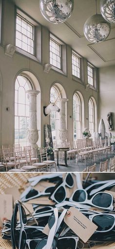 A contemporary wedding at an unusual wedding venue Aynhoe Park with taxidermy decor and dress by Emily Garrod 0008 Share The Love