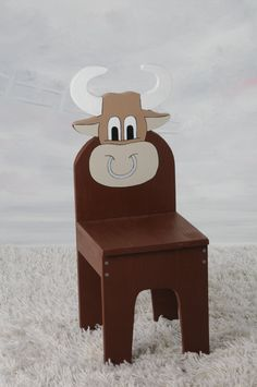 iChart Kids Bull / Cow Chair   Children's Furniture by ichart, $50.00