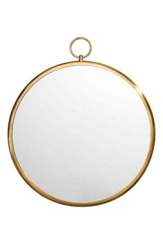Большое зеркало - Золотистый - HOME | H&M RU 1