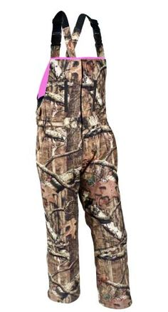 Love these for all types of hunting ( Duck, deer, turkey etc etc) Decent price for a pair of bibs for women ( around $75) insulated, warm waterproof, windproof, quiet and plenty of room to layer up . Could do with out the Pepto pink insides but if you wear layers over it is ok.