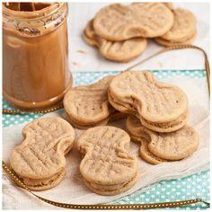 Homemade Nutter Butters – Peanut Butter Sandwich Cookies