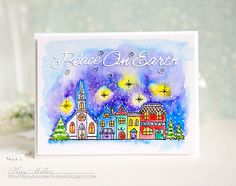 My Joyful Moments: Wintertime Fun With Penny Black Stamps!