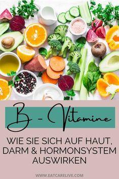 B-Vitamine können sich gesundheitlich auf dein Hormonsystem, Haut, als auch dein Hormonsystem positiv auswirken. Es gibt die verschiedensten B-Vitamine und alle tragen zu deinem gesundheitlichen Wohlbefinden bei. Umso wichtiger ist es seinen Vitaminhaushalt ausreichend zu decken, den nur so kannst du eine Veränderung in deinem Körper erzeugen. Klick hier um mehr über B-Vitamine zu erfahren und wie sie deinem Darm, deiner Haut und deinem Hormonsystem nutzen. #darm #b-vitamine #haut… Fatty Acid Foods, Complete Protein, Body Tissues, Rich In Protein, Vitamin K, Protein Sources, Amino Acids, Beets, Healthy Skin
