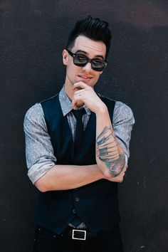 Brendon Urie. If he is going to be the death of me, thats how I want to go. ;) #PATD