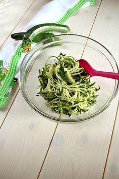 #Zucchine crude marinate, un #contorno gustoso, facile e freschissimo!