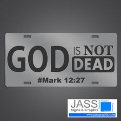 god is not dead christian license plate on mirror acrylic we offer several christian license