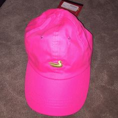 Southern Marsh hat Hot/neon pink with lime green, never worn Southern Marsh Accessories Hats