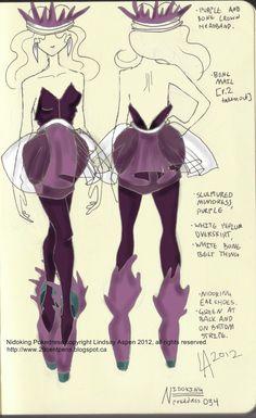 Nidoking dress by Lindsay -- 29CentPens