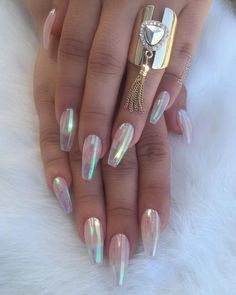 Glass Nails for @veezuhs Sheets from @buybunbun