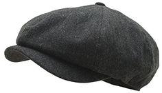 RaOn N18 Mens Fashion Basic Eight Panel Gatsby Style Ivy Cap Ascot Newsboy Beret Hat