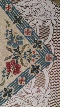 Gallery.ru / Φωτογραφίες # 175 - ιδού η ομορφιά του 50 - GAVRUCHA Cross Stitch Borders, Cross Stitch Charts, Cross Stitch Designs, Cross Stitching, Cross Stitch Embroidery, Hand Embroidery, Cross Stitch Patterns, Needlepoint Stitches, Needlework