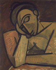 Pablo Picasso. Repose. Paris, spring 1908