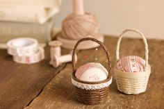 Free homemade patterns & DIY instructions for pin cushions and home dec items from Seria