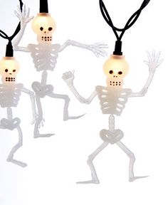 Kurt Adler #halloween #decorations #lights #skeleton #macys BUY NOW!