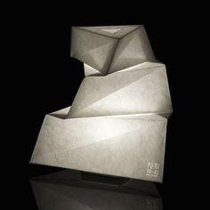 IN-EI Yadokari LED Table lamp - H 30 cm by Artemide