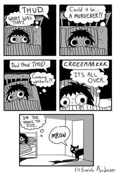 when you hear a noise while sleeping