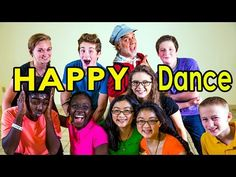 Brain Breaks - Action Songs for Children - Happy Dance - Kids Songs by The Learning Station - YouTube
