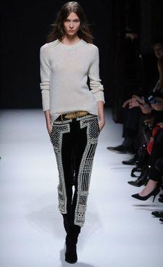 Paris Fashion Week: Balmain autumn/winter 2012