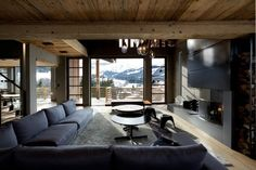 Lovely Winter's Home or not? #winter #home #interiordesign #wood #landscape #panorama