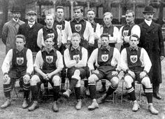 Germany team group in 1910.