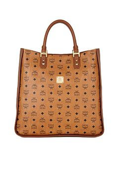 big handbags    MCM Heritage Line Shopper, $735, available at Bloomingdales.
