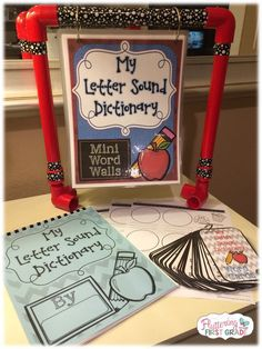 Letter Sound Dictionary is perfect for beginning readers and writers to practice their beginning sounds