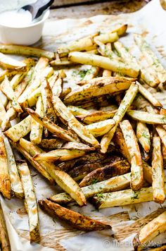 Garlic Dill Fries   The Endless Meal