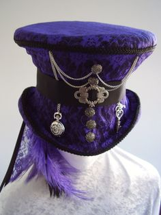 Time Keeper Ameth\'s Top Hat by Blackpin on Etsy. , via Etsy.