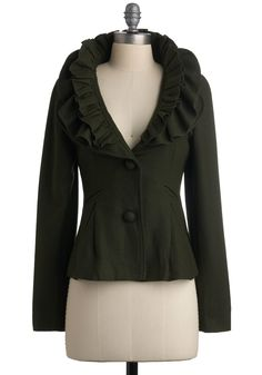 Another awesome jacket, something else that wouldn't look right on me but I love it! from the Anthropologie website