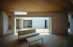 F-White by Takuro Yamamoto Architects. I love the idea of having a garden not outside your house but INSIDE your house.