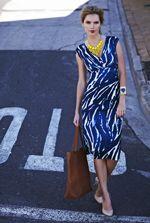 Smudge Animal Print Dress at Long Tall Sally