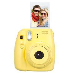 FUJIFILM Instax Mini 8 Camera - Yellow | Target Australia