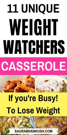 11 Easy Weight Watchers Casserole Recipes With SmartPoints? From Weight Watchers Casserole Chicken, Pasta, to Weight Watchers Casserole Vegetarian recipes which will take minutes. So taste my Easy Weight Watchers Casserole Freestyle with your family. Weight Watchers Casserole, Weight Watchers Soup, Weight Watchers Breakfast, Weight Watcher Dinners, Weight Watchers Chicken, Weight Watchers Desserts, Wieght Watchers, Healthy Casserole Recipes, Ww Recipes