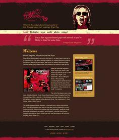www.whoorayrecords.com - 2007