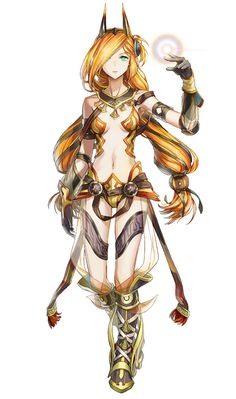 Dana, Luminous Form character concept art from Ys VIII: Lacrimosa of Dana Fantasy Character Design, Character Concept, Character Inspiration, Character Art, Concept Art, Dnd Characters, Fantasy Characters, Female Characters, Fantasy Warrior