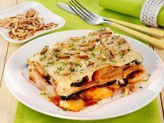 Hähnchen-Oliven-Lasagne