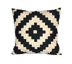Aztec throw pillow covers 18x18 Black and white decorative pillowcases Navajo cushion case 22x22 Geometric cushion covers Outdoor cushions