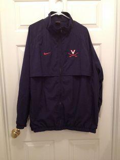 University of Virginia UVA Cavaliers Football Team Issued Nike Zip Jacket XXL