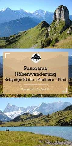 Höhenweg in the Bernese Oberland with a beautiful view of the Eiger, Mönch and J . - Höhenweg in the Bernese Oberland with a beautiful view of the Eiger, Mönch and Jungfrau. Hidden Places, Places To Go, Grindelwald, Places In Switzerland, Reisen In Europa, Mountain Hiking, Backpacking Europe, Day Hike, Wanderlust Travel