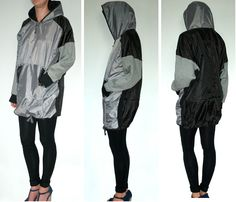 This upcycled, waterproof hoody by Goodone is made from discarded Tents. Perfect for a sustainable festival season.