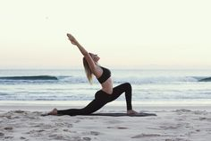 crescent lunge #yoga