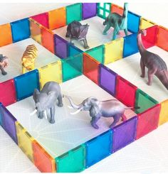 Connetix Play With Loose Parts and Other Materials – Connetix Tiles Educational Activities For Toddlers, Quiet Time Activities, Indoor Activities For Kids, Games For Toddlers, Infant Activities, Play Based Learning, Learning Through Play, Kids Learning, Toddler Fun